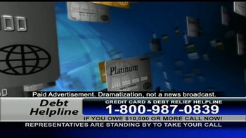 Debt Helpline TV Spot, 'Economic Crisis'