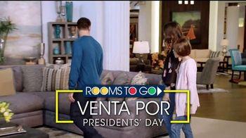 Rooms to Go Venta por Presidents' Day TV Spot, 'Financiar' [Spanish] - Thumbnail 2