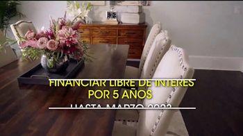 Rooms to Go Venta por Presidents' Day TV Spot, 'Financiar' [Spanish] - Thumbnail 4