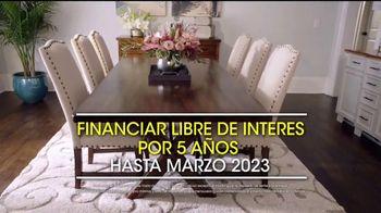 Rooms to Go Venta por Presidents' Day TV Spot, 'Financiar' [Spanish] - Thumbnail 5