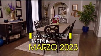 Rooms to Go Venta por Presidents' Day TV Spot, 'Financiar' [Spanish] - Thumbnail 7