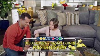Rooms to Go Venta por Presidents' Day TV Spot, 'Financiar' [Spanish] - Thumbnail 9