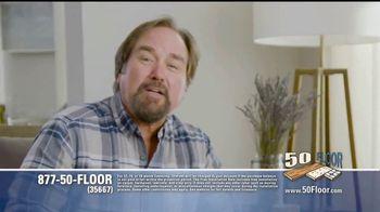 50 Floor 60 Percent Off Sale TV Spot, 'Just for Pets'