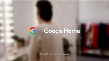 Google Home Mini TV Spot, 'Red Dress' Featuring Tara Lipinski, Johnny Weir - Thumbnail 10