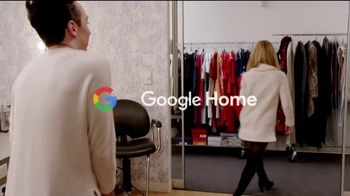 Google Home Mini TV Spot, 'Red Dress' Featuring Tara Lipinski, Johnny Weir - Thumbnail 9