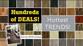 Lumber Liquidators Spring Flooring Kick-Off Sale TV Spot, 'Hottest Trends'