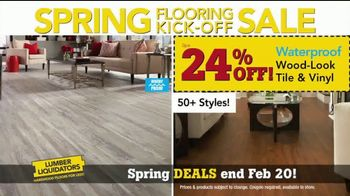 Lumber Liquidators Spring Flooring Kick-Off Sale TV Spot, 'Hottest Trends' - Thumbnail 3