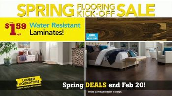 Lumber Liquidators Spring Flooring Kick-Off Sale TV Spot, 'Hottest Trends' - Thumbnail 4
