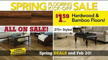 Lumber Liquidators Spring Flooring Kick-Off Sale TV Spot, 'Hottest Trends' - Thumbnail 6