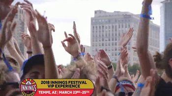 MLB Network 2018 Innings Festival VIP Experience TV Spot, 'Passes' - Thumbnail 6