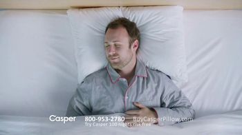 Casper Pillow TV Spot, 'All-Position Pillow' - Thumbnail 2