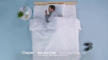 Casper Pillow TV Spot, 'All-Position Pillow' - Thumbnail 3