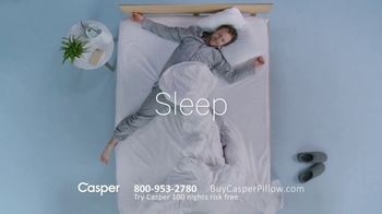 Casper Pillow TV Spot, 'All-Position Pillow' - Thumbnail 4