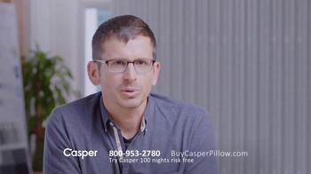 Casper Pillow TV Spot, 'All-Position Pillow' - Thumbnail 5