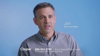 Casper Pillow TV Spot, 'All-Position Pillow' - Thumbnail 8