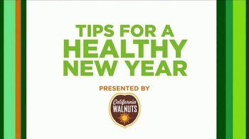 California Walnuts TV Spot, 'Dr. Oz: Tips for a Healthy New Year' - Thumbnail 2