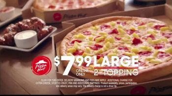Pizza Hut $7.99 Large Pizza Deal TV Spot, 'Bring Everyone to the Table' - Thumbnail 6