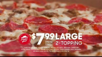 Pizza Hut $7.99 Large Pizza Deal TV Spot, 'Bring Everyone to the Table' - Thumbnail 7