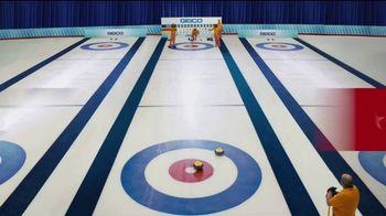 GEICO TV Spot, 'Cavemen Curling Competition' - Thumbnail 1