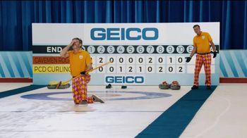 GEICO TV Spot, 'Cavemen Curling Competition' - Thumbnail 7