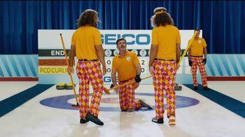 GEICO TV Spot, 'Cavemen Curling Competition' - Thumbnail 9