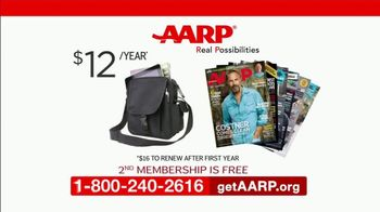 AARP Services, Inc. TV Spot, 'Second Membership' - Thumbnail 9