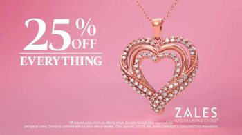 Zales TV Spot, 'Valentine's Day: 25 Percent Off Everything' - Thumbnail 4
