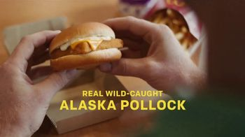 McDonald's Filet-O-Fish TV Spot, 'Real, Sustainably Sourced Fish'