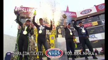 NHRA TV Spot, '2018 Championship Drag Racing: Competition is Fierce'