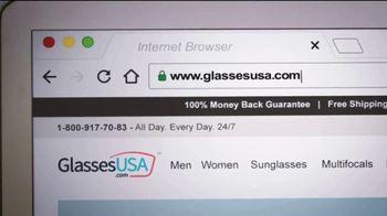 GlassesUSA.com TV Spot, 'Step on It' - Thumbnail 4