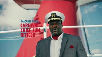 Carnival TV Spot, 'Tour Carnival Vista with New CFO Shaquille O'Neal' - Thumbnail 1