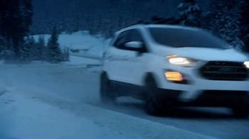 2018 Ford EcoSport TV Spot, 'First-Ever: Night Ski' Song by UMI