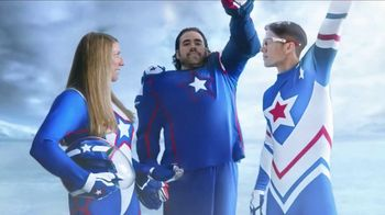 United Airlines TV Spot, 'Team United: To South Korea!' Feat. Erin Hamlin - 1 commercial airings