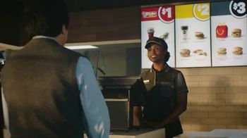 McDonald's $1 $2 $3 Dollar Menu TV Spot, 'Alarm Clock' - Thumbnail 1