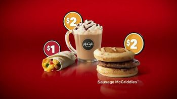 McDonald\'s $1 $2 $3 Dollar Menu TV Spot, \'Alarm Clock\'