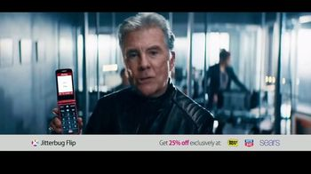 GreatCall Jitterbug Flip TV Spot, 'Museum: Discount' Featuring John Walsh - Thumbnail 6