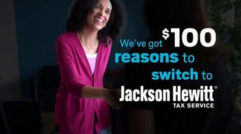 Jackson Hewitt TV Spot, 'Get $100: It Pays to Switch'