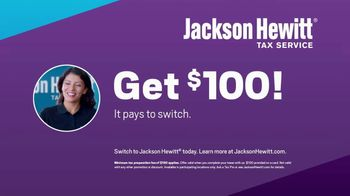 Jackson Hewitt TV Spot, 'Get $100: It Pays to Switch' - Thumbnail 6