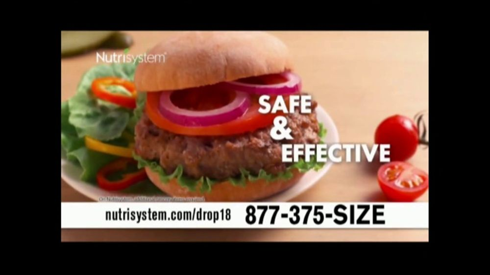 Nutrisystem Drop 18 TV Commercial, 'Lose Up to 18 Pounds'