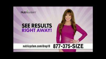 Nutrisystem Drop 18 TV Spot, 'Lose Up to 18 Pounds' - Thumbnail 6