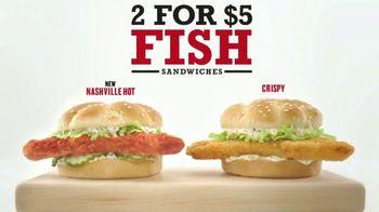 Arby's 2 for $5 Fish Sandwiches TV Spot, 'Common Bond' - Thumbnail 7
