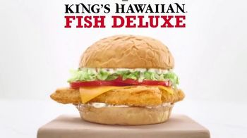 Arby's King's Hawaiian Fish Deluxe TV Spot, 'New States' - Thumbnail 6