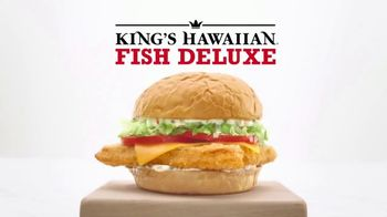 Arby's King's Hawaiian Fish Deluxe TV Spot, 'New States' - Thumbnail 7
