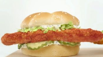 Arby's 2 for $5 Fish Sandwiches TV Spot, 'Fish Logo' - Thumbnail 1