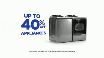 Sears Presidents Day Appliance Event TV Spot, 'Blue' Song by Simon Steadman - Thumbnail 5