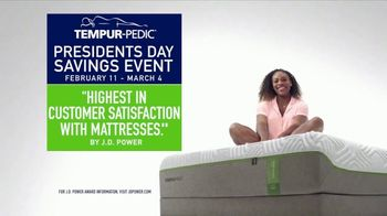 Tempur-Pedic Presidents Day Savings Event TV Spot, 'Only the Best Will Do' - Thumbnail 10
