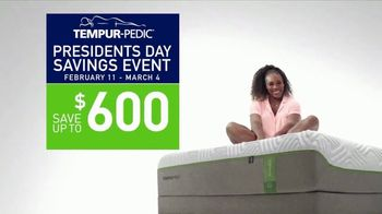 Tempur-Pedic Presidents Day Savings Event TV Spot, 'Only the Best Will Do' - 416 commercial airings