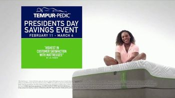 Tempur-Pedic Presidents Day Savings Event TV Spot, 'Only the Best Will Do' - Thumbnail 9
