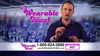 My Wearable Towel TV Spot, 'Hello America' - Thumbnail 5