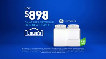 Lowe's TV Spot, 'The Moment: Washing Machine' - Thumbnail 10